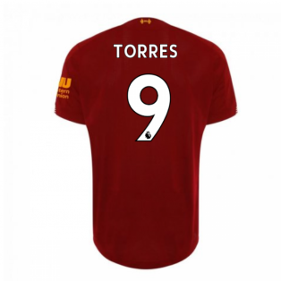 14bf28128 2019-2020 Liverpool Home Football Shirt (TORRES 9) - Kids