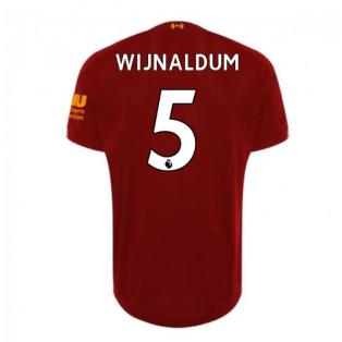 2019-2020 Liverpool Home Football Shirt (Wijnaldum 5) - Kids