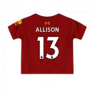 2019-2020 Liverpool Home Little Boys Mini Kit (Allison 13)