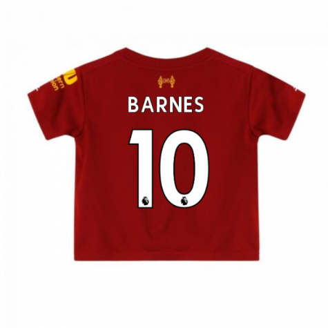 2019-2020 Liverpool Home Little Boys Mini Kit (BARNES 10)
