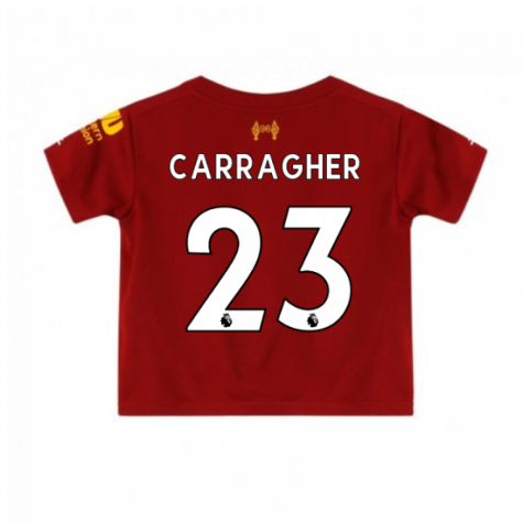 2019-2020 Liverpool Home Little Boys Mini Kit (CARRAGHER 23)