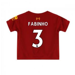 2019-2020 Liverpool Home Little Boys Mini Kit (Fabinho 3)