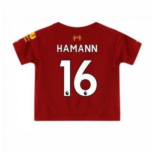 2019-2020 Liverpool Home Little Boys Mini Kit (HAMANN 16)