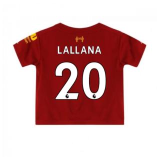 2019-2020 Liverpool Home Little Boys Mini Kit (Lallana 20)