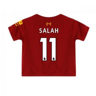 2019-2020 Liverpool Home Little Boys Mini Kit (Salah 11)