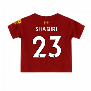 2019-2020 Liverpool Home Little Boys Mini Kit (Shaqiri 23)