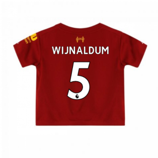 2019-2020 Liverpool Home Little Boys Mini Kit (Wijnaldum 5)