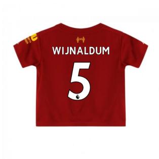 2019-2020 Liverpool Home Little Boys Mini Kit (Wijnaldum 5)