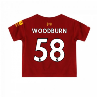 2019-2020 Liverpool Home Little Boys Mini Kit (Woodburn 58)