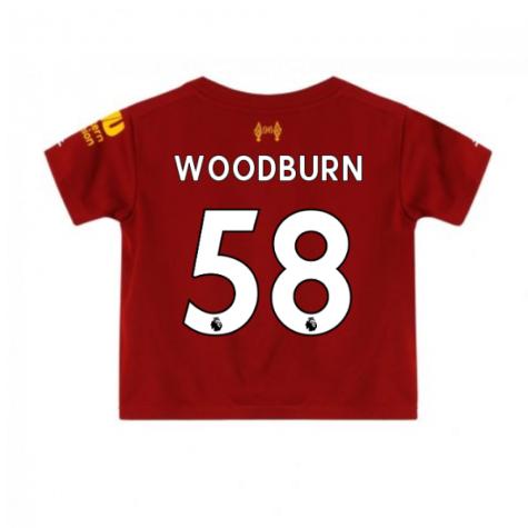 2019-2020 Liverpool Home Little Boys Mini Kit (Woodburn 58)