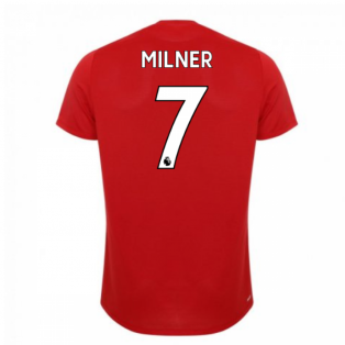 2019-2020 Liverpool Off Pitch Lightweight Tee (Red) (Milner 7)