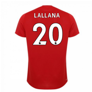 2019-2020 Liverpool On Pitch Jersey (Red) (Lallana 20)