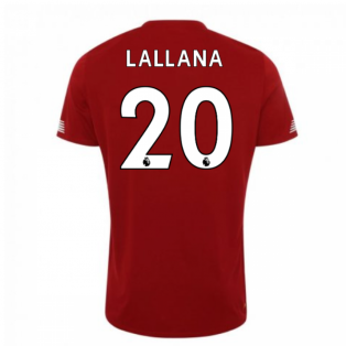 2019-2020 Liverpool Pre Game Jersey (Red) (Lallana 20)
