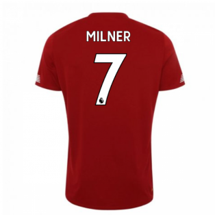 2019-2020 Liverpool Pre Game Jersey (Red) (Milner 7)