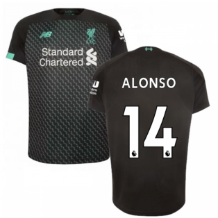 2019-2020 Liverpool Third Football Shirt (Kids) (ALONSO 14)
