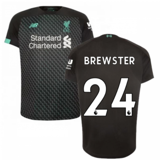 2019-2020 Liverpool Third Football Shirt (Kids) (Brewster 24)