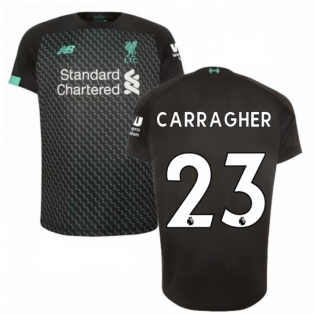 2019-2020 Liverpool Third Football Shirt (Kids) (CARRAGHER 23)