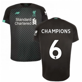 2019-2020 Liverpool Third Football Shirt (Kids) (Champions 6)