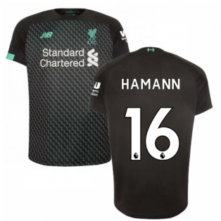 2019-2020 Liverpool Third Football Shirt (Kids) (HAMANN 16)