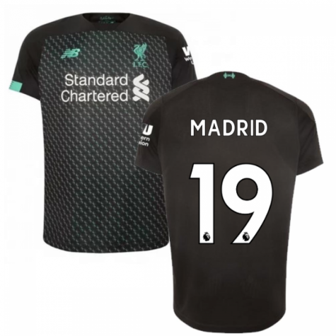 2019-2020 Liverpool Third Football Shirt (Kids) (Madrid 19)