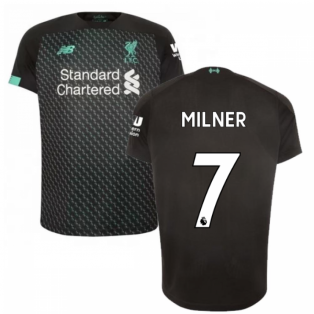 2019-2020 Liverpool Third Football Shirt (Kids) (Milner 7)