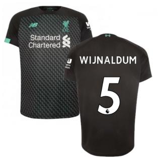 2019-2020 Liverpool Third Football Shirt (Kids) (Wijnaldum 5)