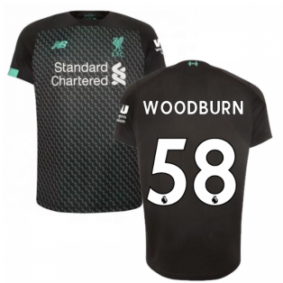 2019-2020 Liverpool Third Football Shirt (Kids) (Woodburn 58)