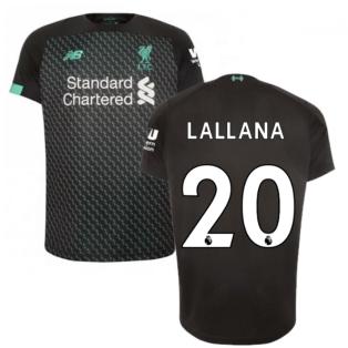2019-2020 Liverpool Third Football Shirt (Lallana 20)