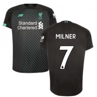 2019-2020 Liverpool Third Football Shirt (Milner 7)