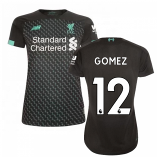 2019-2020 Liverpool Third Ladies Football Shirt (Gomez 12)