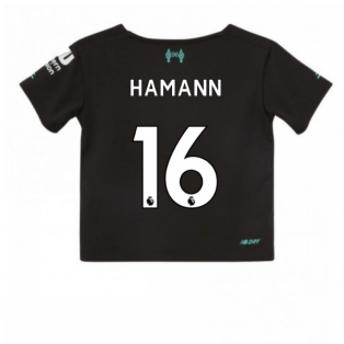 2019-2020 Liverpool Third Little Boys Mini Kit (HAMANN 16)