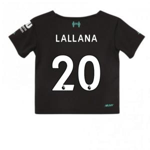 2019-2020 Liverpool Third Little Boys Mini Kit (Lallana 20)