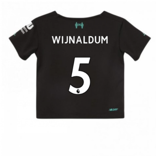 2019-2020 Liverpool Third Little Boys Mini Kit (Wijnaldum 5)