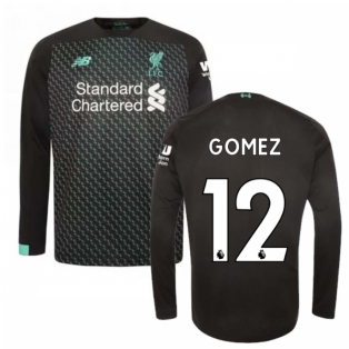 2019-2020 Liverpool Third Long Sleeve Shirt (Kids) (Gomez 12)