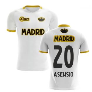 2020-2021 Madrid Concept Training Shirt (White) (ASENSIO 20)