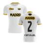 2019-2020 Madrid Concept Training Shirt (White) (CARVAJAL 2)