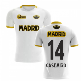 2019-2020 Madrid Concept Training Shirt (White) (CASEMIRO 14) - Kids