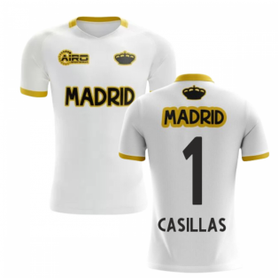 2019-2020 Madrid Concept Training Shirt (White) (CASILLAS 1)