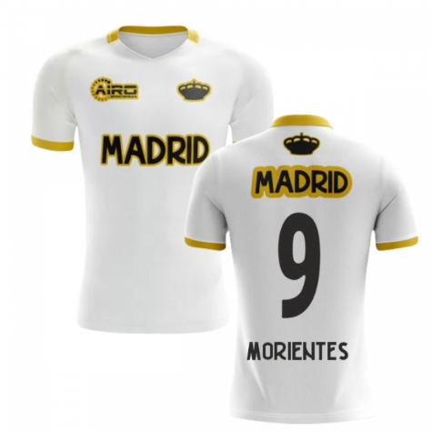2019-2020 Madrid Concept Training Shirt (White) (MORIENTES 9) - Kids