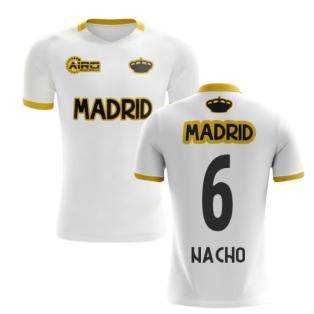 2020-2021 Madrid Concept Training Shirt (White) (NACHO 6)