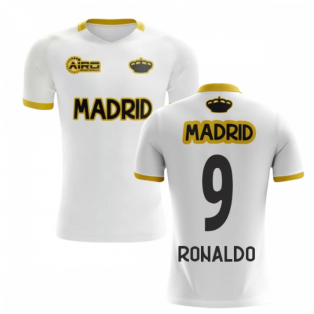 2019-2020 Madrid Concept Training Shirt (White) (RONALDO 9)