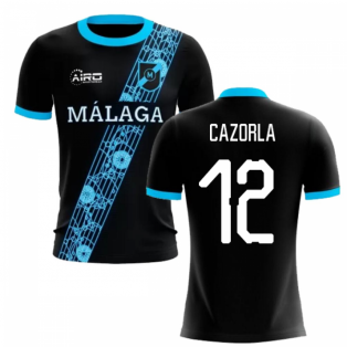2020-2021 Malaga Away Concept Football Shirt (Cazorla 12) - Kids