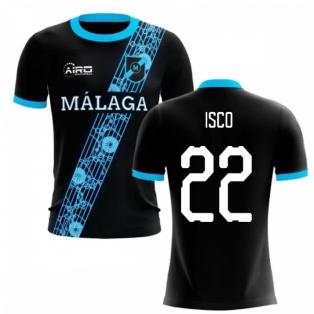 2020-2021 Malaga Away Concept Football Shirt (Isco 22)