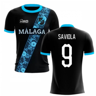 2020-2021 Malaga Away Concept Football Shirt (Saviola 9)