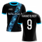 2020-2021 Malaga Away Concept Football Shirt (Van Nistelrooy 9) - Kids