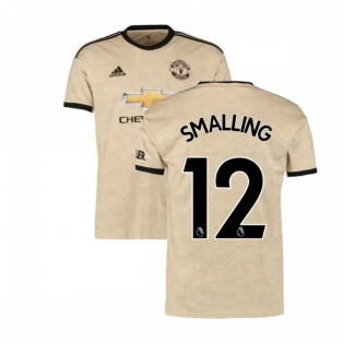 2019-2020 Man Utd Adidas Away Football Shirt (SMALLING 12)