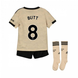 2019-2020 Man Utd Adidas Away Little Boys Mini Kit (BUTT 8)