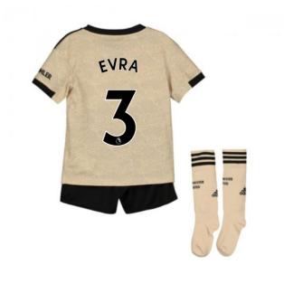 2019-2020 Man Utd Adidas Away Little Boys Mini Kit (EVRA 3)