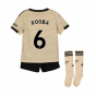 2019-2020 Man Utd Adidas Away Little Boys Mini Kit (POGBA 6)
