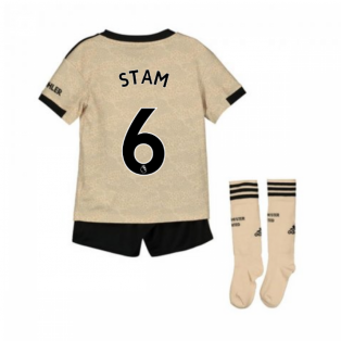 2019-2020 Man Utd Adidas Away Little Boys Mini Kit (STAM 6)